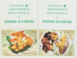 Calendrier 2004 Couverture Champignons Chanterelle Bolet - Klein Formaat: 2001-...