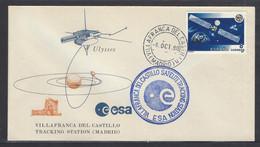 Spain Space Villafranca Del Castillo Satelite Tracking Station Cover 1990 - Europa
