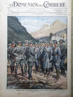 La Domenica Del Corriere 14 Novembre 1915 WW1 Rancio Solferino Caduti Ciclisti - War 1914-18