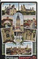 Allemagne ,   GRUSS AUS SPEYER A RH      ( Voir Le  Verso) - Speyer