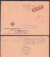 BERLIN O17 ZKD-Brief B23L Werk Für Fernmeldewesen, ZKD-Nr. 161 Nach Schkopau, Zentraler Kurierdienst Der DDR - Service