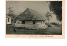 28113 WALLIS ET FUTUNA : LANO, Une Case Indigène Servant De Grand Séminaire -1 Oeuvre Saint Pierre Apotre - Wallis And Futuna