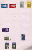 Irlande N°232 à 235, 246, 247 Cote 7.50 Euros (241, 244, 245 Offerts) - Usati