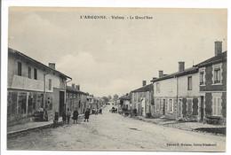 CPA 51 MARNE L'ARGONNE VALMY LA GRAND RUE EDITION MOISSON SAINTE MENEHOULD - Otros Municipios