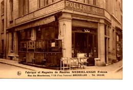 B6. Bruxelles: Fabrique Et Magasins De Meubles Nederlangh Frères (place Fontenas) - Brussel (Stad)