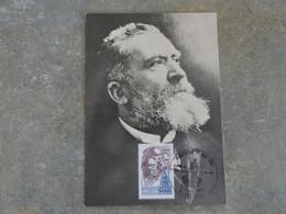 CARTE MAXIMUM CARD DE JEAN JAURES AU MUSEE DE CASTRES FRANCE - Andere