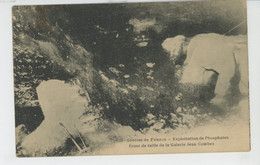 GROTTES DE FAUZAN - Exploitation De Phosphates - Front De Taille De La Galerie Jean Combes - Andere Gemeenten