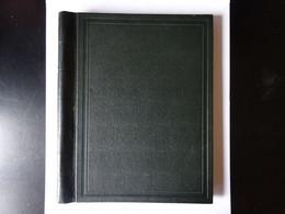 Reliure Yvert Et Tellier Verte Type Standard Tranche Arrondie Sans Anneau Avec 60 Pages - Binders With Pages