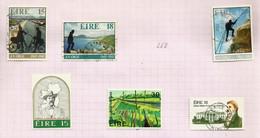 Irlande N°446, 447, 449 à 452 Cote 5 Euros - Usati