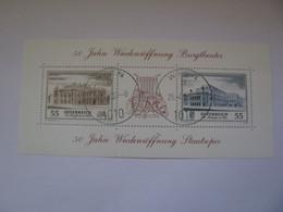 Österreich  2555 - 2556  O  Block  30 - 2001-10 Used