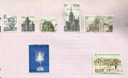 Irlande N°487 à 491 Cote 8.50 Euros (493, 494 Offerts) - Usati