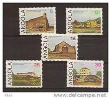 ANGOLA 1985 Historic Buildings - Angola