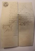 OUD DOKUMENT BETALING LOKEREN 1810 - Historical Documents
