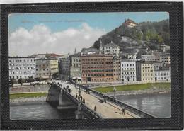 AK 0677  Salzburg - Staatsbrücke Mit Kapuzinerberg / Verlag Purger & Co Um 1920 - Salzburg Stadt