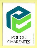 AUTOCOLLANT STICKER - POITOU CHARENTE - Stickers