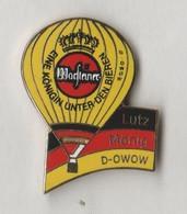 Pin's Montgolfière WARSTEINER En EGF. - Mongolfiere