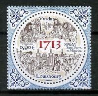 SPM Miquelon 2013  N° 1095 ** Neuf  MNH Superbe Construction De Louisbourg - Unused Stamps