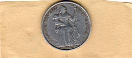 Monnaies De La Nouvelle-Calédonie 5 Francs 1952 Aluminium En TTB - New Caledonia