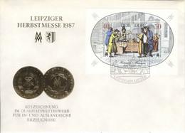DDR Block 88 FDC Sonderstempel - FDC: Briefe
