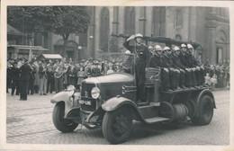57) HAYANGE : Photographie - Défilé - Le Camion Des Pompiers - Thionville