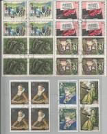 Timbres Oblitérés, Tableaux Ou Oeuvres D'art De 1965 à 1973 - Sammlungen (ohne Album)