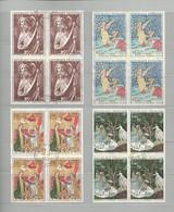 Timbres Oblitérés, Tableaux Ou Oeuvres D'art De 1965 à 1972 - Sammlungen (ohne Album)
