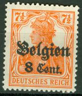 Landespost In Belgien 13 * Nachgummiert - Occupation 1914-18