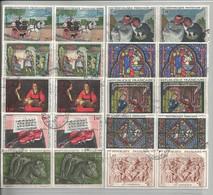 Timbres Oblitérés, Tableaux Ou Oeuvres D'art De 1964 à 1970 - Sammlungen (ohne Album)