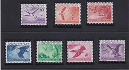 Liechtenstein 1939 Cat. Yvert N° PA 17/23 ** - Air Post