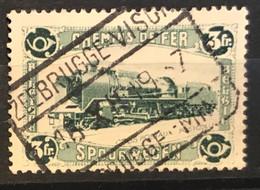 TR175 Gestempeld ZEEBRUGGE VISCH ZEEBRUGGE MINQ - 1923-1941