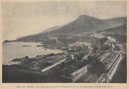 G2809 France - Corniche De L'Estérel - Le Trayas - 1903 Vintage Print - Stampa - Stampe & Incisioni
