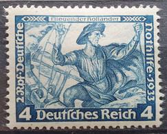"""Deutsches Reich 1933, Mi 500B Gezähnt 14 """"Wagner"""" MNH Postfrisch - Nuevos"""