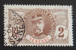 "SENEGAL YT 31 OBLITERE ""GENERAL FAIDHERBE"" ANNÉE 1906 - Usati"