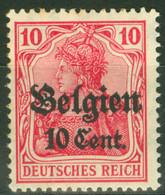Landespost In Belgien 14 ** Postfrisch - Occupation 1914-18