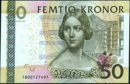 ♛ SWEDEN - 50 Kronor 2011 {Sveriges Riksbank} UNC P.64 C - Sweden