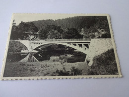 Houffalize L'ourthe Au Pont De Rensiwez - Houffalize