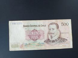 CHILI 500 PESOS 1995 - Chile