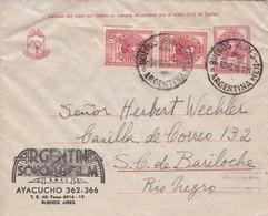ARGENTINE. ARGENTINA SONO FILM, CINE STUDIO CINÉMATOGRAPHIQUE. CIRCULEE BUENOS AIRES A BARILOCHE. ANNEE 1946.- LILHU - Film