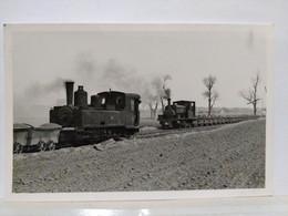 Locomotive. N°54. Corpet Louvet? 8.5x13.5 Cm - Treinen