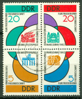 DDR 901/04 Viererblock O Tagesstempel - Used Stamps