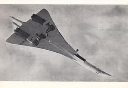 CONCORDE (Vorserie) 1970, Ansichtskarte Mit Sonderstempel Nordstedt - Lufthansa - Airmen, Fliers