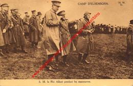 S/M. Le Roi Albert Pendant Les Manœuvres - Elsenborn (Kamp) - Elsenborn (camp)
