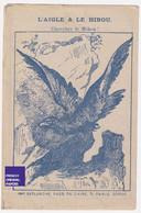 Chromo Gravure Image Devinette Chicorée Candeliez Imp. Deplanche Sainte Olle Lez Cambrai 1890 Aigle Hibou Fable 47-13 - Té & Café