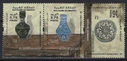 Maroc - Morocco (2020) - Set -  /  Heritage - Ceramics School - Porzellan