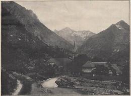 G2438 France - La Chapelle En Valjouffrey - Stampa D'epoca - 1927 Vintage Print - Stampe & Incisioni