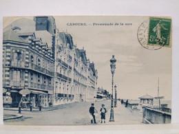 Cabourg. Promenade De La Mer - Cabourg