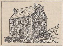 G2676 France - Saint-Martial - Chalet-Hotel Du Gerbier-des-Joncs - 1929 Print - Stampe & Incisioni