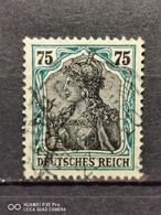 Deutsche Reich Mi-Nr. 104 B Gestempelt Geprüft - Gebraucht