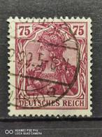 Deutsche Reich Mi-Nr. 148 Ll Gestempelt Geprüft - Gebraucht