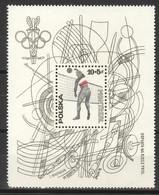 Polen Block 65 ** Postfrisch Olympia Montreal 1976 - Blocks & Sheetlets & Panes